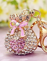 cheap -Keychain Novelty Rhinestone Zinc Alloy Unisex Toy Gift
