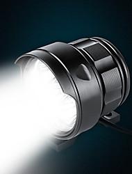 Недорогие -Светодиодная лампа Велосипедные фары Передняя фара для велосипеда огни безопасности Велоспорт Велоспорт Портативные USB зарядка выход Прочный Перезаряжаемая батарея Литиевая батарея 500 lm / IPX 6