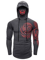 cheap -Men's Club Punk & Gothic T-shirt - Geometric Black
