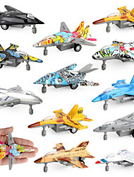 cheap -Toy Airplane Plane Nautical Plane / Aircraft For Children Music & Light Pull Back Vehicles Soft Plastic Kid's Boys' Girls' Toy Gift 1 pcs