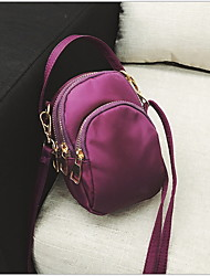 cheap -Women's Oxford Cloth Crossbody Bag Solid Color Black / Purple / Blue