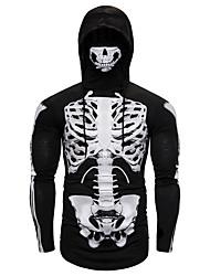 cheap -Men's Club Punk & Gothic T-shirt - Skull Black