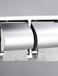 cheap -Bathroom Toilet Tissue Box Stainless Steel Long Draw Box Waterproof Hotel Concealed Carton Double Paper Towel Rack