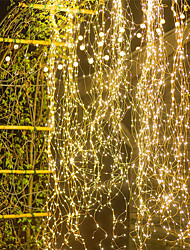 cheap -1pcs Outdoor 2mx10 200LED Vines Branch LED String Fairy Light Outdoor Garden Fence Tree LED String Fairy Branch Light