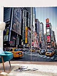 abordables -Royaume-Uni rue impression numérique 3d rideau ombrage rideau haute précision noir tissu de soie rideau de haute qualité