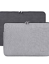 cheap -11.6 Inch Laptop / 13.3 Inch Laptop / 14 Inch Laptop Sleeve Polyester / Canvas Plain / Fashion for Business Office for Colleages & Schools for Travel Water Proof Shock Proof
