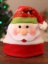 cheap -Snowman Hat Family Look Kid's Costume Party Christmas Christmas Velvet Hat