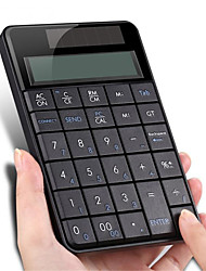 cheap -Wireless 2.4 G USB Numeric Keyboard with Screen Calculator Business