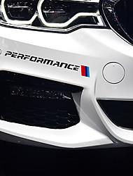 Недорогие -2 шт. Стайлинга автомобилей передняя наклейка передний бампер наклейки и отличительные знаки для bmw e90 e46 e39 e60 f30 f10 f34 x3 x4 x5 e70 f15 x6 m3 m5