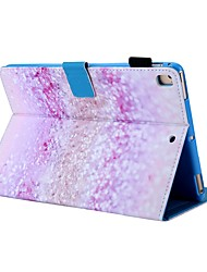 cheap -Case For Apple iPad Air / iPad 4/3/2 / iPad (2018) Card Holder / with Stand / Pattern Full Body Cases Scenery PU Leather