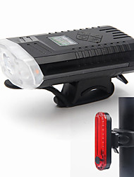 cheap -LED Bike Light Front Bike Light Safety Light Tail Light Bicycle Cycling Portable Adjustable Durable Lightweight 500 lm USB Port White Camping / Hiking / Caving Cycling / Bike