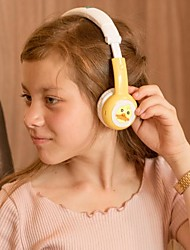 cheap -Bamini Healthy Child Stereo Headphones Over-ear Wired Low Decibel Hearing Early Childhood Education To Protect the Hearing with Microphone and Volume Control Earphone