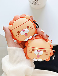 cheap -lion cartoon cute wireless bluetooth headset case For airpods pro Earphone soft silicone cover For airpods pro 3 protective case
