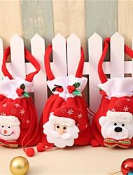 cheap -Christmas New Brushed Apple Bag Cute Portable Gift Bag Activity Gift Bag Christmas Carnival Candy Bag