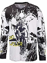 cheap -Motorcycle Jersey Long Sleeve Cycling Jersey Downhill Jersey Cycling T-Shirt Bicycle Clothing