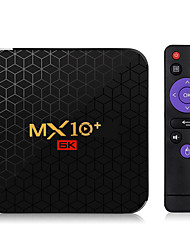 cheap -MX10 Plus Android 9.0 Smart TV Box Allwinner H6 6K 4GB /32GB 2.4G / 5G WiFi BT4.0 100M LAN USB3.0 H.265 VP9 Media Player