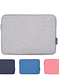 cheap -11.6 Inch Laptop / 13.3 Inch Laptop / 14 Inch Laptop Sleeve Polyester / Canvas Plain / Fashion for Business Office for Colleages & Schools for Travel Waterpoof Shock Proof
