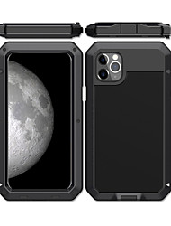 cheap -Case For Apple iPhone 11 / iPhone 11 Pro / iPhone 11 Pro Max Shockproof / Dustproof / Water Resistant Back Cover Armor Metal / Aluminium