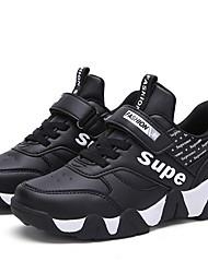 رخيصةأون -للصبيان مريح PU أحذية رياضية الأطفال الصغار (4-7 سنوات) الركض أسود / برتقالي / أحمر الصيف