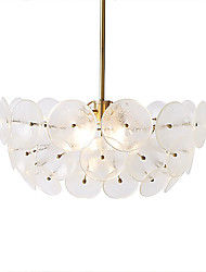 cheap -HEDUO 4-Light Pendant Light Ambient Light Electroplated Glass 110-120V / 220-240V