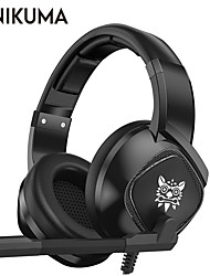 cheap -ONIKUMA K19 Gaming Headset Wired Gaming Stereo Dual Drivers with Microphone