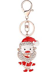 cheap -Keychain Favors Zinc Alloy 1 Piece Christmas