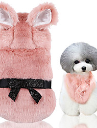 cheap -Dog Cat Vest Puppy Clothes Cowboy Punk Dog Clothes Puppy Clothes Dog Outfits Pink Costume for Girl and Boy Dog Textile Polyester Mixed Material XS S M L XL