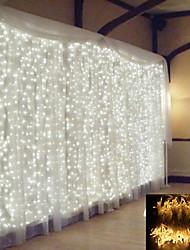 Недорогие -1 шт. 2x2 м светодиодный занавес сказочные огни строка рождественские светодиодные патио ну вечеринку свадебные окна декор открытый строки огни на новый год