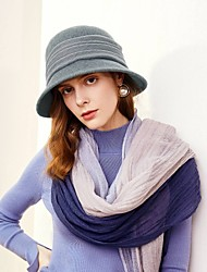 cheap -Wool Hats with Patterned / Stripe 1pc Casual / Daily Wear Headpiece