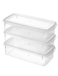 cheap -High Quality with Plastics Storage Boxes Everyday Use Kitchen Storage 2 pcs