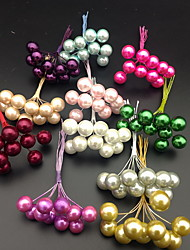 cheap -Pearlescent Pearls Artificial Flowers Multi - Colored Pearl Stamens Wedding Christmas Decoration