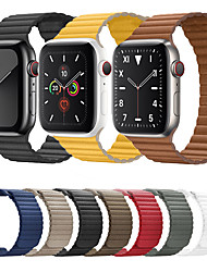 cheap -Compatible with Apple Watch Band 44mm 42mm 40mm 38mm - Adjustable Leather Strap with Magnetic Closure System for iWatch Series 5/4/3/2/1