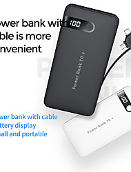 cheap -10000 mAh For Power Bank External Battery 5 V For 5 A For Battery Charger with Cable LED