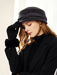 cheap -Wool Hats with Wave-like / Tiered 1pc Casual / Daily Wear Headpiece