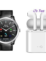 cheap -N58 Smartwatch BT Fitness Tracker Support ECG PPG HRV/ Heart Rate Blood Pressure with Free Wireless TWS Headphone