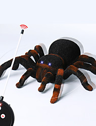 cheap -Halloween Toys Spider Toys Remote Control / RC Horror Spider Iron Fabrics LED 1 pcs Kid's Adults All Toy Gift