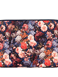 cheap -13.3 Inch Laptop / 14 Inch Laptop / 15.6 Inch Laptop Sleeve Polyester Floral / Retro for Business Office for Colleages & Schools for Travel Water Proof Shock Proof
