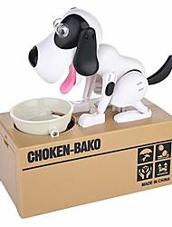 cheap -1 pcs Choken Bako Bank Piggy Bank / Money Bank Saving Money Box Munching Toy ABS Dog Novelty Kid's Adults' Boys' Girls' Toys Gifts