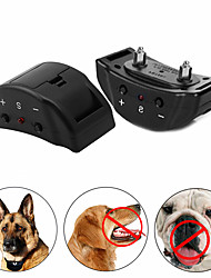 cheap -Dog Training Anti Bark Collar Shock Collar Anti Bark Device Adjustable Size Ultrasonic Dog Trainer Anti Bark Automatic Plastic & Metal Nylon Behaviour Aids Ultrasonic For Pets