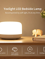 cheap -Yeelight YLCT01YL Colorful LED Bedside Lamp Intelligent Dimmable Night Light APP Control Apple HomeKit (Xiaomi Ecosystem Product)