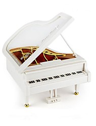 cheap -Little Piano ABS White Music Toy For Kids