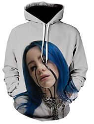 cheap -Women's Basic Hoodie - 3D Gray S