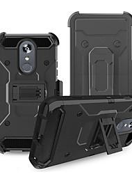 Недорогие -Кейс для Назначение LG LG StyLo 3 / LG Stylo 4 / LG Stylo 5 Защита от удара Кейс на заднюю панель броня ПК
