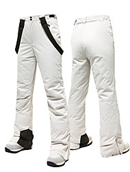 cheap -MUTUSNOW Women's Ski / Snow Pants Skiing Snowboarding Winter Sports Waterproof Windproof Warm Polyester Pants / Trousers Ski Wear