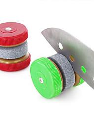 cheap -Mini Knife Sharpener Round Grinding Wheels Sharpening Stone Household Whetstone Kitchen Accessories Tool