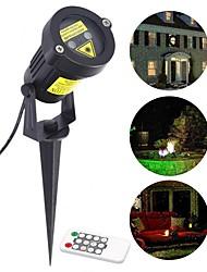 cheap -YWXLight® Starry Outdoor Lawn Light LED Path Plug Spotlights Floodlights Landscape Lights Christmas Laser Lights Atmosphere Lights IP65 Waterproof