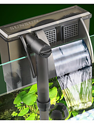 cheap -Aquarium Fish Tank Filter Vacuum Cleaner Noiseless Plastic 1 pc 220-240 V