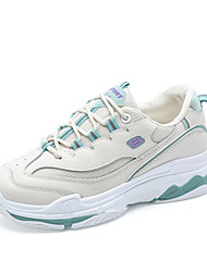 cheap -Women's Athletic Shoes Creepers Round Toe Mesh / PU Sporty / Sweet Spring & Summer Blue / Pink