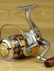cheap -Fishing Reel Bearing Spinning Reel 5.2:1 Gear Ratio+10 Ball Bearings Hand Orientation Exchangable Sea Fishing / Freshwater Fishing / Lure Fishing - MK4000 / General Fishing / Trolling & Boat Fishing