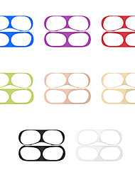 cheap -Case For Apple Scene Picture Air Pods Pro Metallic Bluetooth Headphone Case Dustproof Sticker JMGD